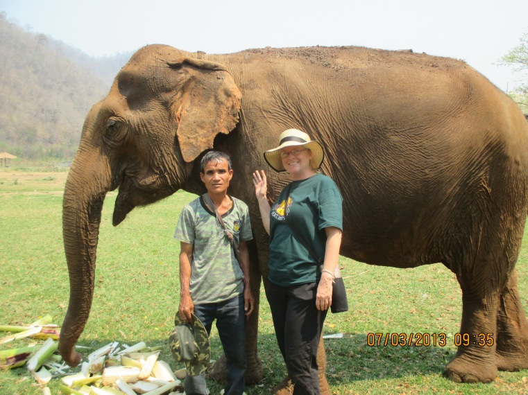 This mahout is 55 years old.
