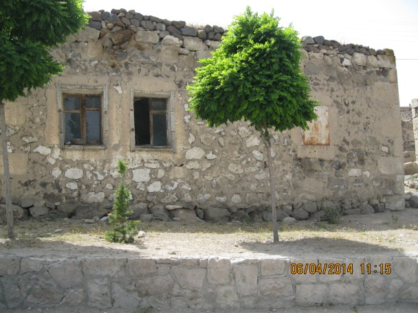 Old home made of stone