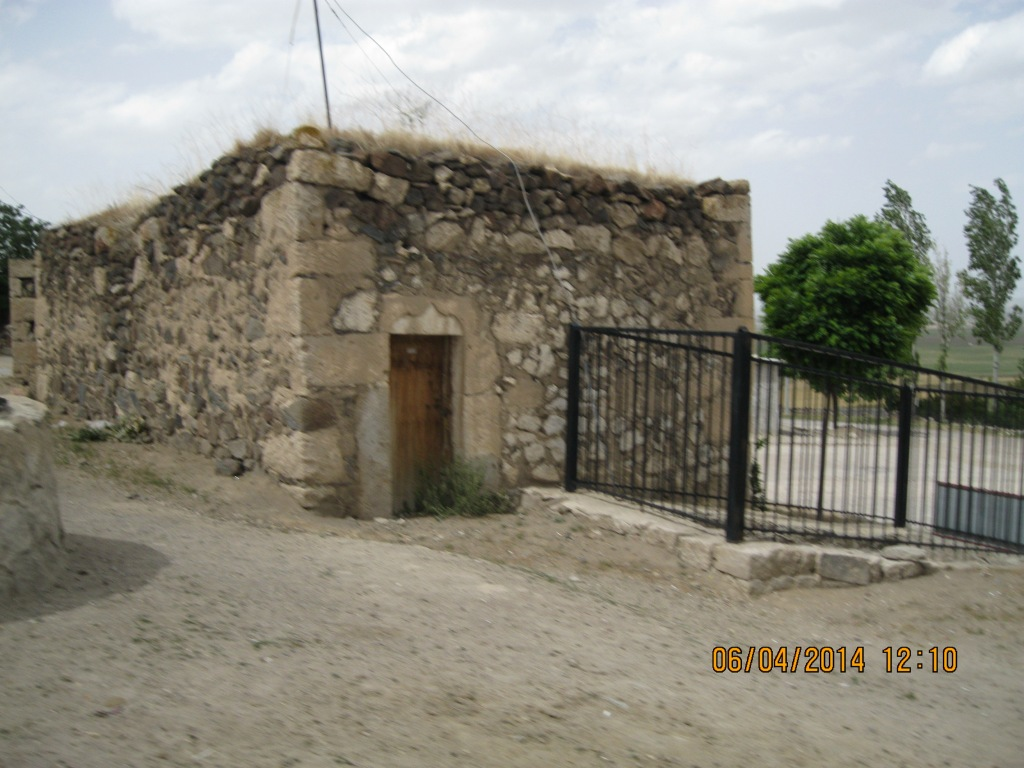 Stone home in a small village in Turkey.