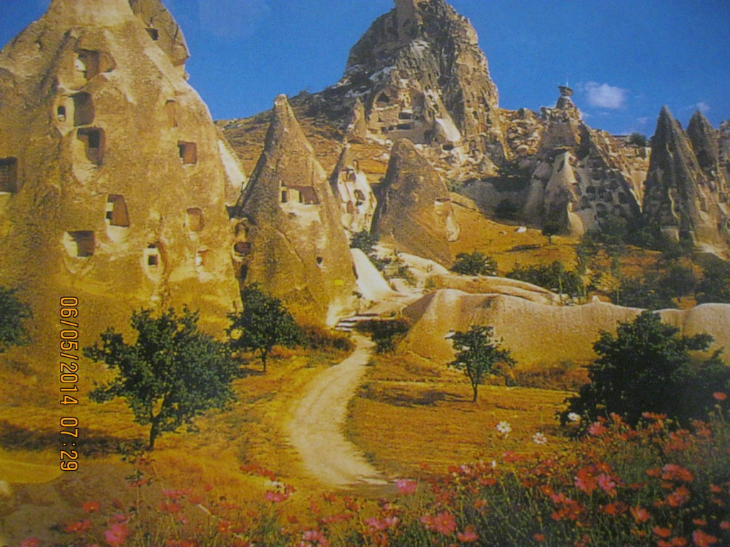 Fairy Chimneys in Cappadokya, Turkey