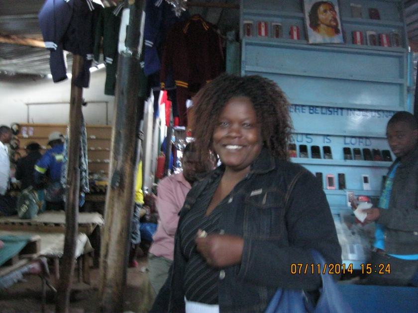 Reumbi, a sweet girl that took us on a tour of how she and her family lived.